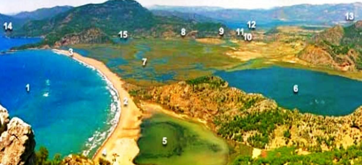 Dalyan Deltası Genel Görünüm - Copy
