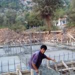 2008, Temel Atımı - Start of Construction