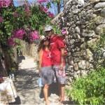 Eski Datça Taş Evleri Arasında - Between Old Datça Stone Houses