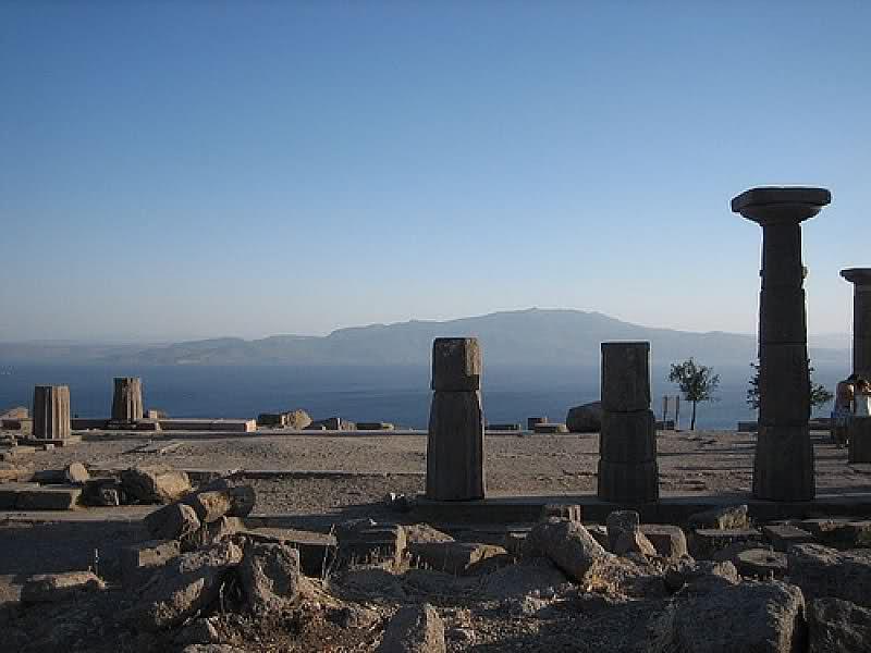 AMOS ANTİK HARABELERİ - AMOS ANCIENT RUINS