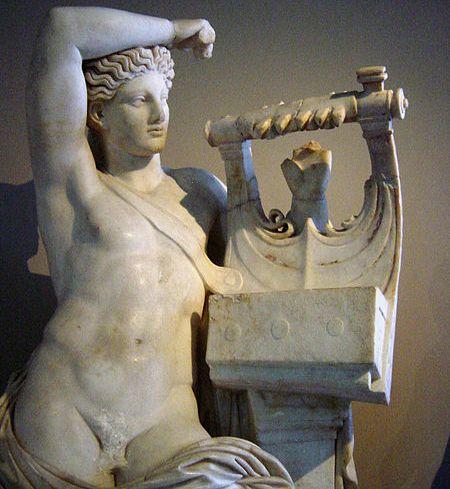 APOLLON ve LİRİ, İSTANBUL ARKEOLOJİ MÜZESİ - APOLLON and HIS LYRE, ISTANBUL ARCHAELOGY MUSEUM